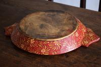 Large Scandinavian Painted Wooden Bowl (9 of 10)