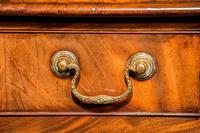 Good George III Period Mahogany Kneehole Desk (4 of 4)