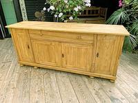 Big! Old 2m Pine Dresser Base Sideboard / Cupboard / TV Stand - We Deliver! (3 of 13)