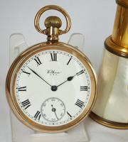 Antique 1917 Waltham Traveler Pocket Watch