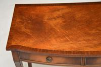 Antique Regency Style Mahogany Console Table (2 of 9)