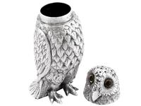 Sterling Silver Owl Pepperettes - Antique Victorian (8 of 12)