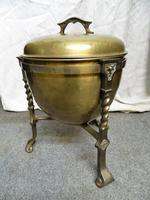 Arts & Crafts Brass Coal Bin (5 of 6)