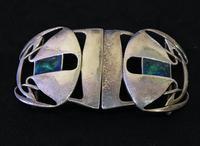 Archibald Knox Liberty & Co Cymric Silver Belt Buckle (6 of 7)
