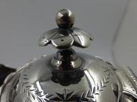 Antique Victorian Silver Claret Jug - Birmingham 1881 (9 of 10)