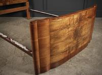 Art Deco Walnut Standard Double Bed (11 of 11)