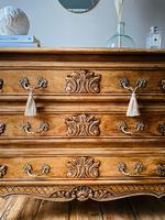 French Antique Style Drawers / Chest of Drawers / Louis XV Style (4 of 6)