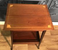 Edwardian Inlaid Mahogany Sewing Box (8 of 11)