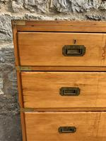 19th Century Pine Campaign Chest (3 of 5)