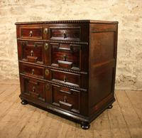 early oak chest of drawers (2 of 6)