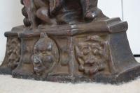 Victorian Cast Iron Mr Punch Door Stop (9 of 10)
