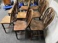 Harlequin Set of 8 18th Century Windsor Dining Chairs (13 of 15)