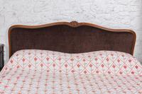 Louis XV Style Upholstered Super King Size Bed (3 of 8)