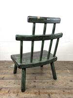 Unusual Primitive Style Painted Stick Chair (9 of 10)