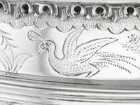 Sterling Silver Monteith Bowl - Antique Edwardian 1905 (7 of 18)