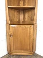 Vintage Elm Ercol Corner Cupboard (2 of 9)