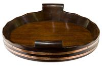 Mahogany Circular Tray (6 of 7)