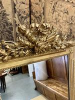 French 19th Century Gilt Wall Mirror with Carved Decoration (3 of 9)