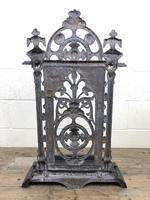 Victorian Cast Iron Umbrella Stand – Coalbrookdale Style (8 of 9)