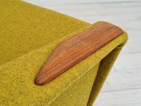 Danish Design, 70s, Completely Restored Armchair, Furniture Wool, Teak Wood (8 of 13)