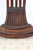 Edwardian Hepplewhite Mahogany Desk Chair (9 of 13)