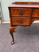 Antique Burr Walnut Writing Desk (2 of 9)