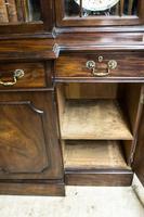Antique 19th Century Mahogany Breakfront Bookcase (11 of 12)