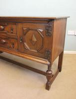 Antique Oak Sideboard Dresser Base (5 of 13)