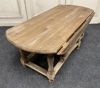 Large Bleached Oak Coffee Table (7 of 11)