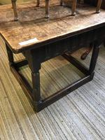 Oak Square Coffee Table (2 of 8)