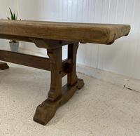 Large French Oak Farmhouse Refectory Dining Table (3 of 10)