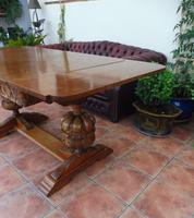 Waring & Gillows Extending Dining Table 1910 (10 of 13)