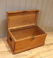 Late Victorian Pine Chest c.1880 (4 of 9)