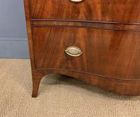 Georgian Flame Mahogany Serpentine Chest of Drawers (7 of 15)