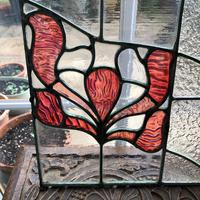 Antique Stained Glass Panel from a London Chapel (7 of 10)