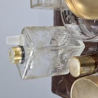Exceptional Asprey HM Silver Gilt Fittings in Leather Case c.1935 (9 of 27)