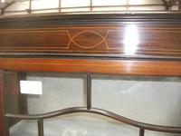 Small Edwardian Inlaid Mahogany Cabinet (2 of 4)