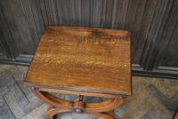 Pair of Oak Hall Benches (4 of 6)