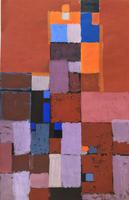 Original Mixed Media on Paper 'Rectangles' by Stan Dobbin. Initialled & Dated 57 (2 of 2)