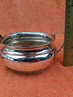 Art Deco Silver Plate EPNS Cream Jug & Sugar Bowl c.1930 (10 of 12)