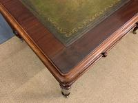 Victorian Mahogany 4 Drawer Partners Writing Table (4 of 13)