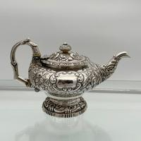 Antique George IV Sterling Silver Teapot London 1824 John Craddock & William Reid (11 of 11)