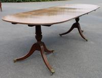 1920s Mahogany Dend Dining Table with 2 Leaves (3 of 3)