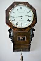 Exceptionally Fine 1845 English Drop Dial Fusee Wall Timepiece by Francis Scholefield (2 of 11)