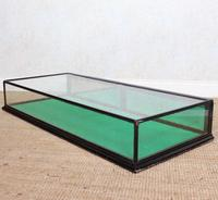 Counter Top Shop Display Cabinet Glazed Ebonised 19th Century Glass (11 of 14)