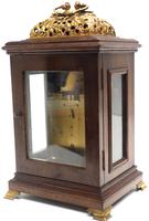 Stunning Burr Walnut Basket Top Bracket Clock by Charles Frodsham Clock Makers to The King (6 of 12)
