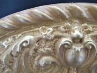 Antique Berlin Porcelain Dish in Repoussée Brass Frame c.1880 (9 of 10)