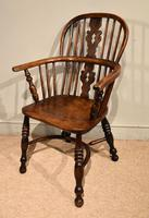 Ash & Elm Low Back Windsor Armchairs (3 of 9)