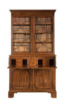 George III Period Mahogany Secretaire Bookcase, Gillows of Lancaster Attributed (9 of 9)