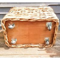 Large Wicker Log Basket on Wheels (6 of 6)